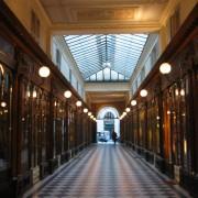 Passage couvert de la galerie Vera Dodat à Paris (75) - photo : Odile Besème.