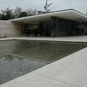 Pavillon de l'exposition universelle de 1929 - Barcelone (Esp.) (Ludwig Mies van der Rohe - architecte) photo: Christine Belliard-Roman.
