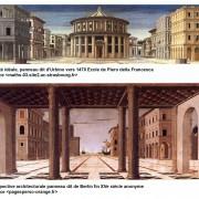Deux perspectives architecturales centrales du XVe.