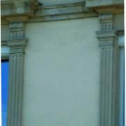Pilastre de fenêtre - Morteau (25) - photo. Karine Terral.