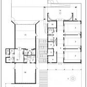 Plan de l'école de Vieilley (25) (Quirot- Vichard - architectes - 2004).