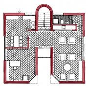 Plan de niveau 2 (Mario Botta).