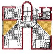 Plan de niveau 3 (Mario Botta).