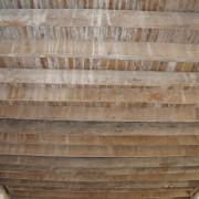 Plancher en bois - photo: Françoise Miller.