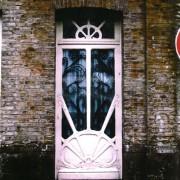 Porte d'une maison de ville - Lille (59) photo: CAUE du Nord.