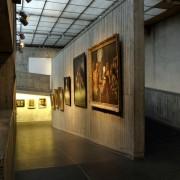 Rampes du musée des Beaux-Arts de Besançon (25) (rénovation de Louis Miquel - architecte - 1965) photographe: Nicolas Waltefaugle.