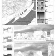 Planche extraite du rendu « concours » du collège Lumière de Besançon (25) (Quirot-Vichard - 2007).