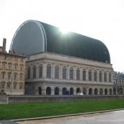 Rénovation du théâtre de Lyon par Jean Nouvel - architecte.