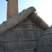 Souche de cheminée d'une maison de pêcheur - Pyrénées-Orientales - photo : Karine Terral.