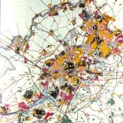 Schéma directeur de Lille en 1970 - extrait de la revue Urbanisme.