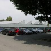 Shed d'une usine à Dornbirn (Autriche) photo: Karine Terral.