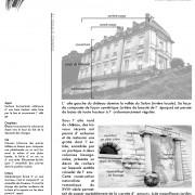 Soubassement du château de champlitte (70) - extrait du dossier pédagogique - CAUE du Doubs.