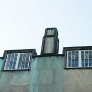 Souche de cheminée du Palais de Stoclet - Bruxelles - photo : Karine Terral.