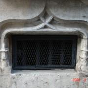 Soupirail d'un immeuble de la Grande Rue à Besançon (25).