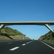 Tablier d'un pont de l'A75 - photo: Karine Terral.