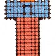 Sur le plan de cette église - repérez les absidioles après avoir consultez la définition d'abside.