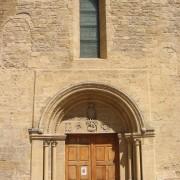 Archivolte d'un portail d'église romane (Hérault) (34) photo: Odile Besème.