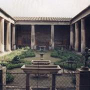La Domus de los Vettii - Pompéi (Italie) villa romaine - photo: Patricio Lorente pour Wikipédia.