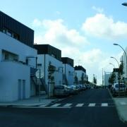 Quartier de l'Immaculée à St Nazaire par IDEA architecte et SILENE-OPAC (2006-2007) (photo. Rémi Bassez).