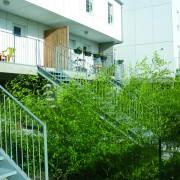 Logement de la Nantaise Habitation à Rezé par Barré-Lambot architecte (2007).