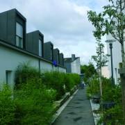 ZAC des Vignes de Servon sur Vilaine par Bichet architecte et le bureau JAM (1998-2007) (photo. Rémi Bassez).