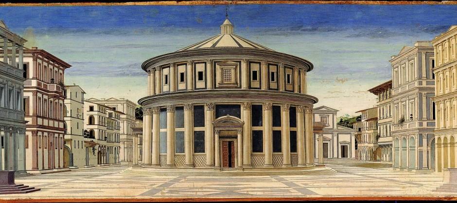 Piero della Francesca - Ideal City - Galleria Nazionale delle Marche Urbino