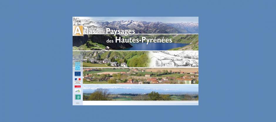 couverture atlas des paysages CAUE des Hautes-Pyrénées