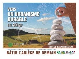 couverture du guide Vers un urbanisme durable du CAUE de l'Ariège