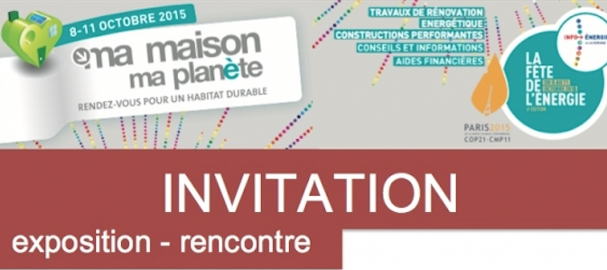 invitation habitat participatif CAUE 63