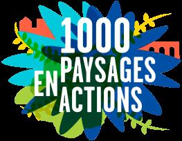 logo 1000 paysages en action