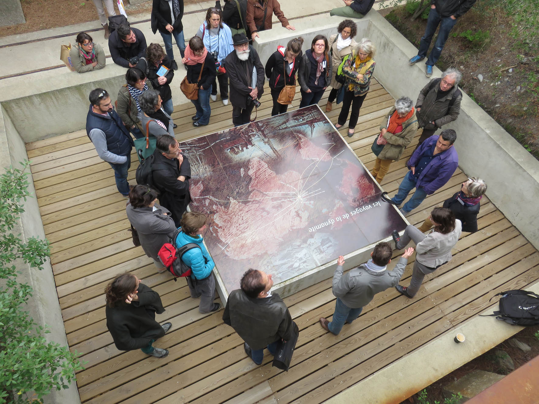 Journée des personnels des CAUE Languedoc-Roussillon et Midi-Pyrénées à Perpignan en octobre 2015.