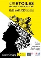 affiche festival d'architecture val de Marne 2016