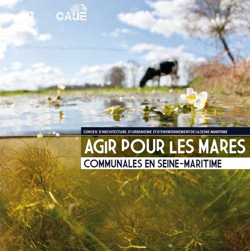 couverture de l'ouvrage sur les mares par le CAUE 76