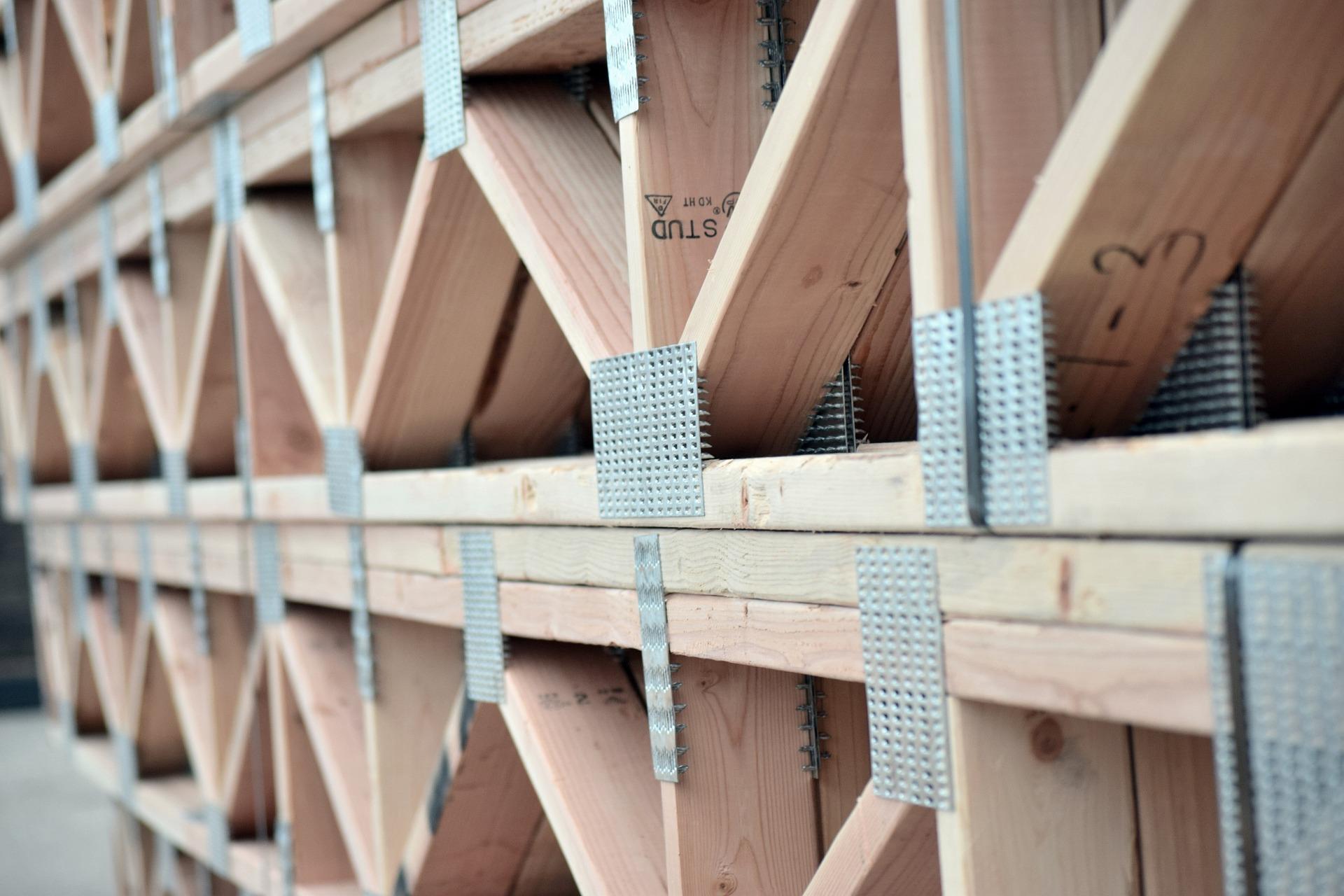 fermes de plancher en bois