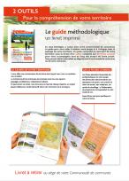 Le guide méthodologique, livret papier