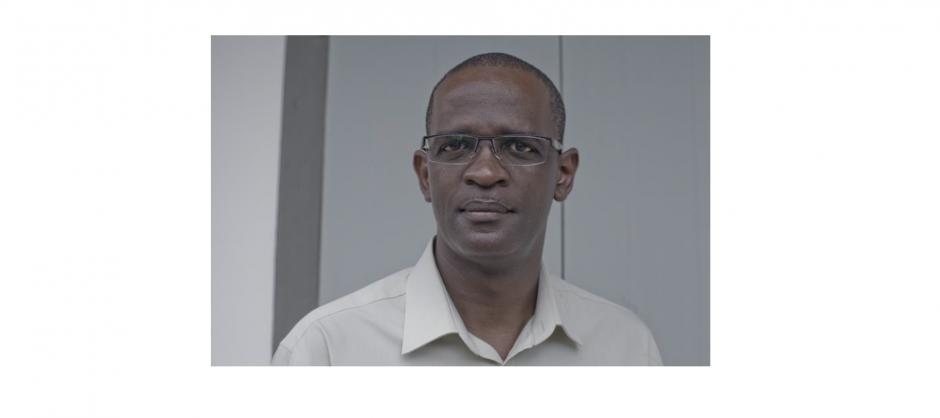 portait de Patrice Clet, président du CAUE de la Guyane