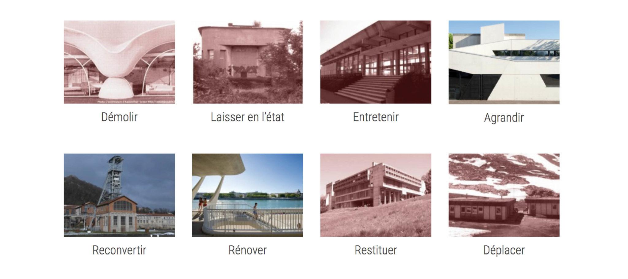 Comment intervenir sur l'architecture du XXe siècle ?