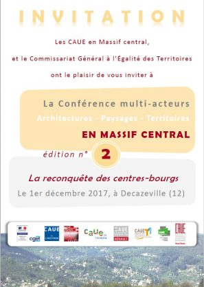 affiche_caue_massif-Central_conference_01122017